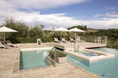 La Romagnana Agriturismo- piscina
