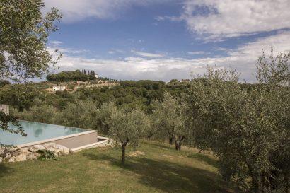 La Romagnana Agriturismo- panorama piscina