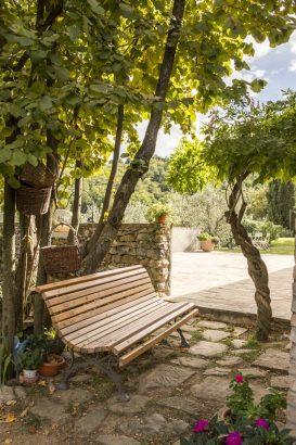 Agriturismo La Romagnana - giardino