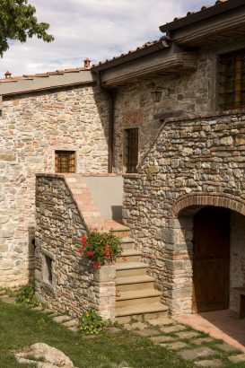 Agriturismo La Romagnana - scale in pietra