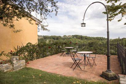 Agriturismo La Romagnana - terrazza