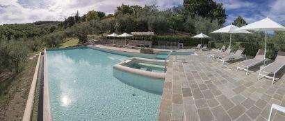 Agriturismo La Romagnana - piscina a sfioro