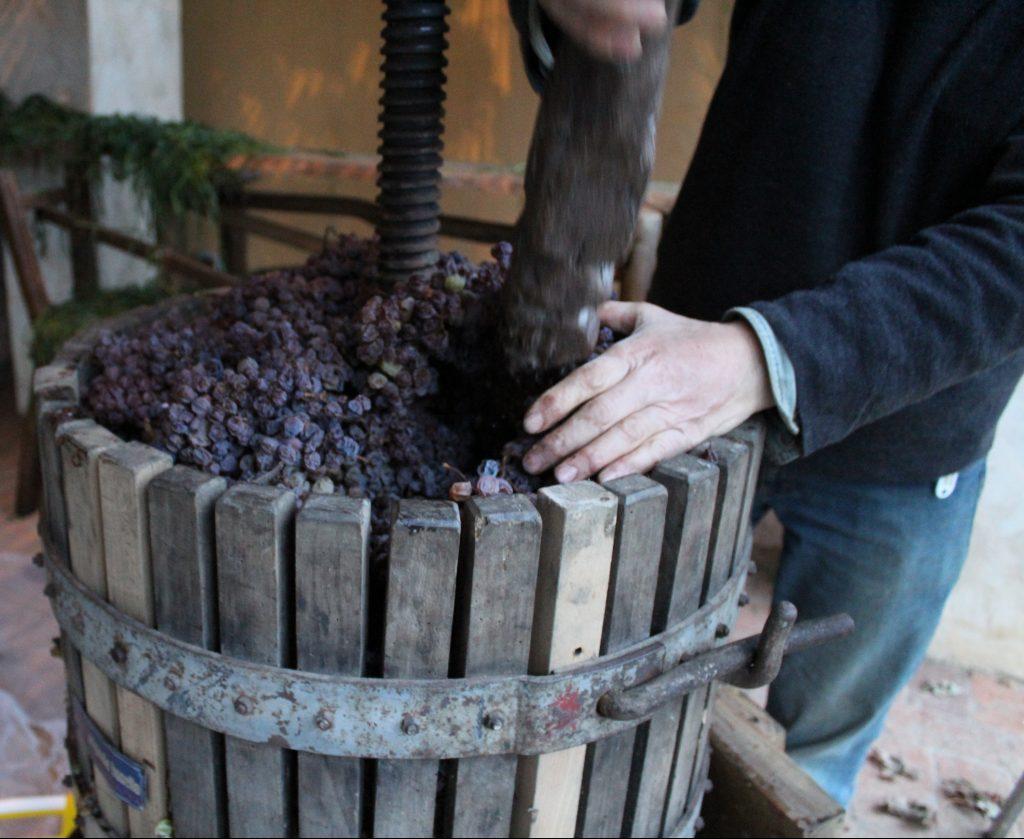 strettoio vin santo la romagnana